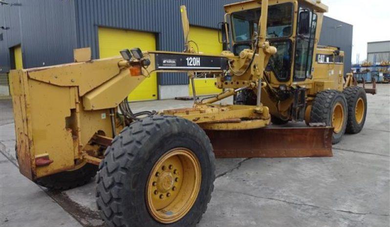 Used Caterpillar Motor Grader 120h On Rent Sale 36machines